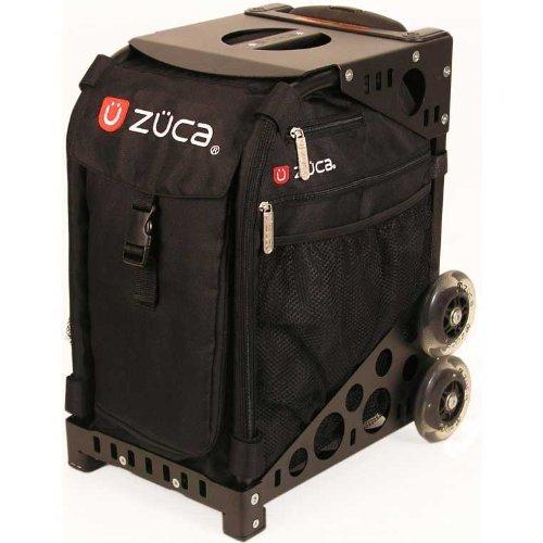 Zuca Artist Case, Black Frame and Insert Bag Vinyl Pouches