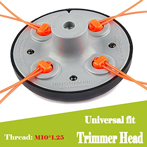 Ball's Home 55-491 Pivotrim String Trimmer Attachment Head - Line Trimmer Head