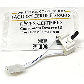Amazon whirlpool part number 3406109 door switch assembly genuine factory oem fsp whirlpool ps346704 3406107 3406109 dryer door switch asfbconference2016 Gallery