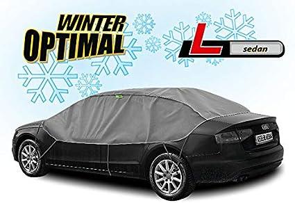 Abdeckplane Halbgarage Sonneschutz Schneeschutz Uv Schutz Winter Sommer Größe Lsedan Kompatibel Mit Bmw 5er F10 Auto