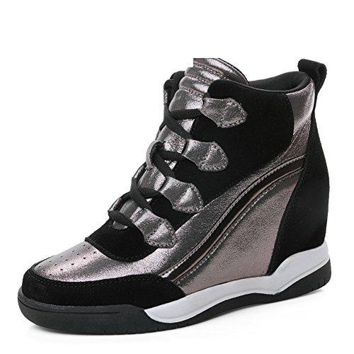 basse tempo Aumento della per autunno con coreana versione scarpe in il libero delle donna da B scarpe donna alta da Sport scarpe 7Zr7wn
