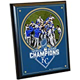 Steiner Sports MLB Kansas City Royals 2015 World Series Champions Plaque, 8 x 10