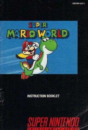 Super Mario World SNES Instruction Booklet (Super Nintendo Manual Only) (Super Nintendo Manual) - Super Nintendo Snes Manual