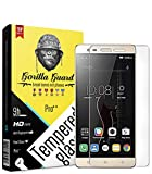Gorilla guard's HD+ Clear Tempered Glass Screen Protector for Lenovo K5 Note 5.5inch (Pro Series) 8H Hardness, oleophobic, UV Protect, 2.5D Rounded Edges, neo Coated, Free Installation kit.
