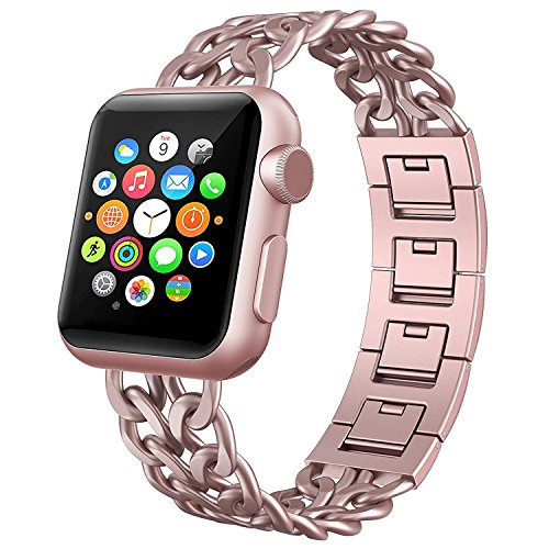 Cowboy Chain Stainless Steel Link Strap for Apple Watch