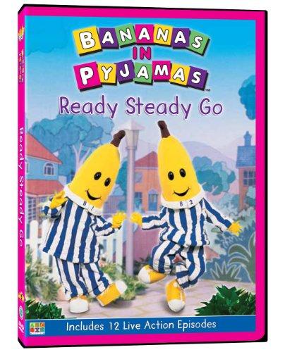 Bananas in Pyjamas: Ready Steady Go (Dvd In Pajamas Banana)