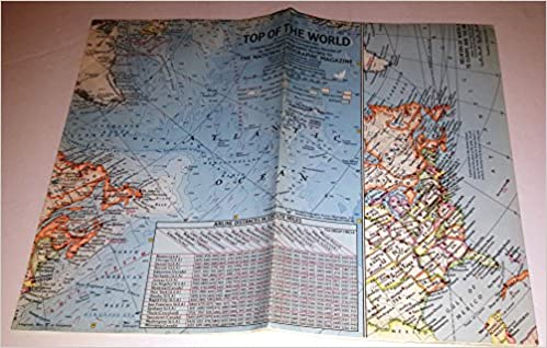 Top of the World (National Geographic Map, Atlas Plate 3): Melville ...