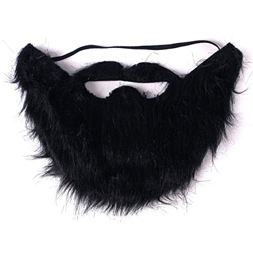 Fake Beard And Mustache (Funny Halloween Party Fake Beard Moustache Mustache Facial Hair)