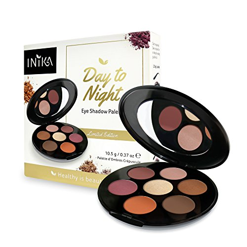 Inika Day to Night Eye Shadow Palette, Limited Edition Beaut