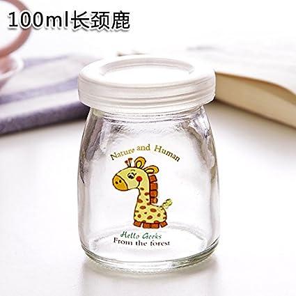 UWSZZ Bricolaje creativo pudding botella botellas de vidrio ...