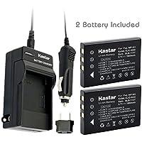 Kastar 2X Battery + Charger for Hewlett Packard A1812A L1812A L1812B Q2232-80001 HP PhotoSmart R07 R507 R607 R607xi R707 R707v R707xi R717 R725 R727 R817 R817v R818 R827 R837 R847 R926 R927 R937 R967
