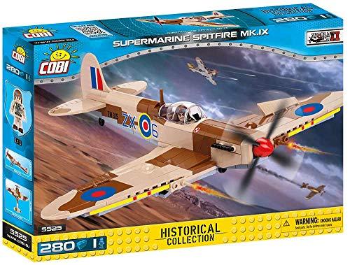- COBI 5525 Historical Collection Spitfire MK. IX Plane, Desert