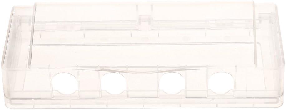 Wasserdichte Wandschalter Steckdose Schutz Gehäuse Fall mit 2 Löcher