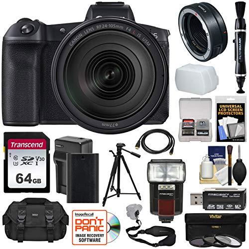 Canon EOS R Full Frame Mirrorless Digital Camera & 24-105mm