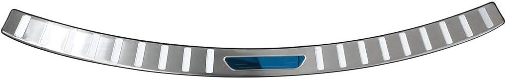 CStern Edelstahl Ladekantenschutz mit Abkantung f/ür Mazda CX-5 2013-2016 Anti-Kratz Hecksto/ßstangenschutz Schutzleiste