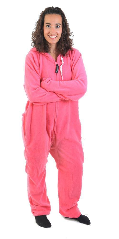 Forever Lazy Adult Onesie - Really Pinkin Tired - S
