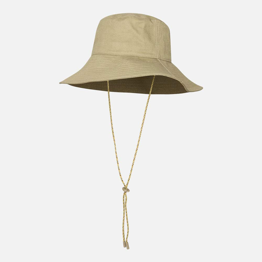 Ylik Women's Packable Fisherman Bucket Hat Outdoor Hat with Chin Strap - Sun Protective