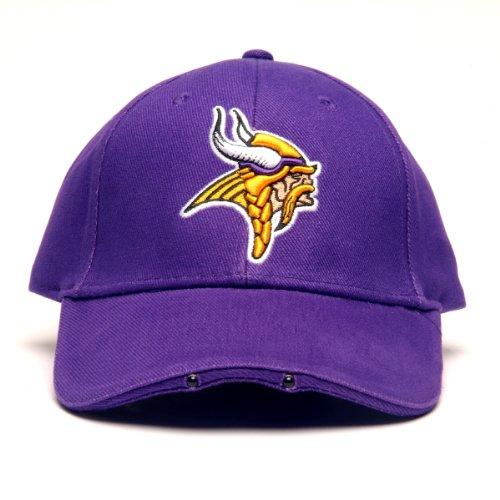 NFL Minnesota Vikings Dual LED Headlight Adjustable - Hat Beer Nfl
