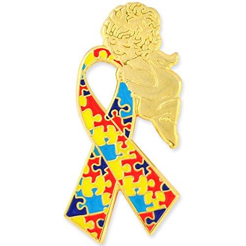 - PinMart's Autism Awareness Ribbon Angel 1