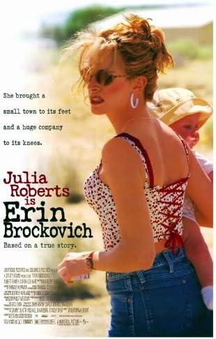 Erin Brockovich Movie Poster (27 x 40 Inches - 69cm x 102cm) (2000) -(Julia  Roberts)(Albert Finney)(Aaron Eckhart)(Marg Helgenberger)(Cherry  Jones)(Veanne Cox): Amazon.co.uk: Kitchen & Home