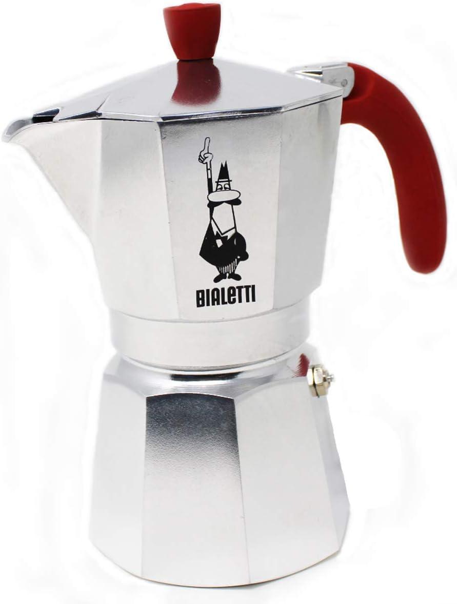 Bialetti Break Cafetera Espresso De Aluminio para 6 Tazas ...