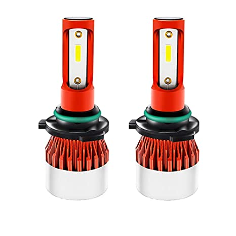 Diesel Auto 2 x 9006/HB4 LED luces del coche COB LED Bombillas Kit 72W