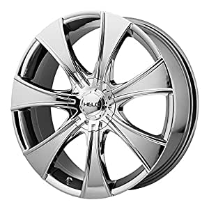 """Helo HE874 Wheel with Bright PVD Finish (16x7.5""""/5x120mm)"""