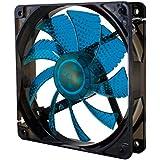NOX NXCFAN120LBL - Ventilador para caja de ordenador, 120 x 120 mm, color azul