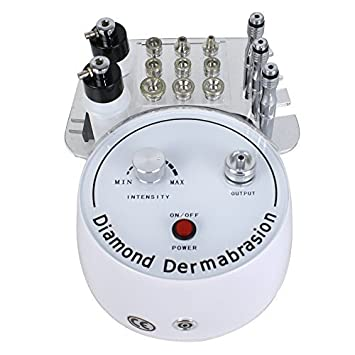 Mini Diamond Microdermabrasion Dermabrasion Facial Peel Vacuum Spray Machine Olay Total Effects Cleanser + Moisturizer Bundle