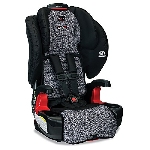 Britax Pioneer Combination Harness-2-Booster Car Seat – 2 Layer Impact Protection – 25 to 110 pounds, Static