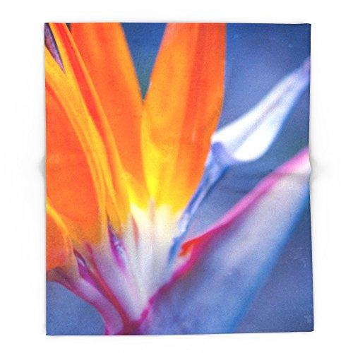 Society6 Bird Of Paradise - Strelitzia Reginae - Crane Flower Maui Hawaii 88'' x 104'' Blanket by Society6