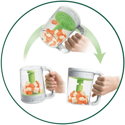 (Food Steamer and Blender) - Philips Avent Scf870 Combined Baby Food Master