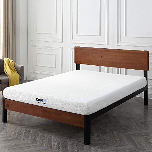 (Classic Brands Cool Gel Memory Foam 6-Inch Mattress, CertiPUR-US Certified, Twin)
