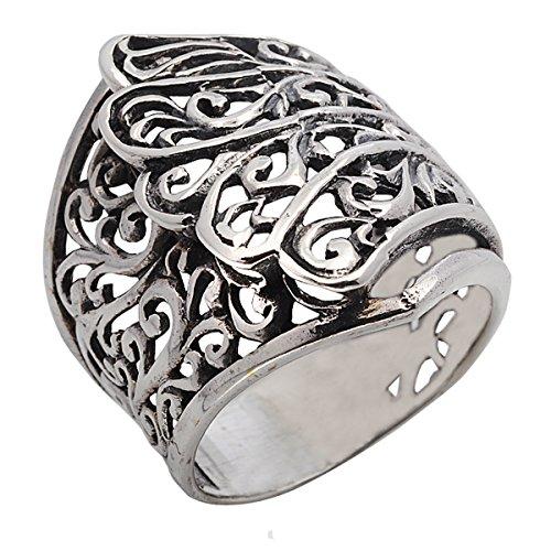 Handmade 925 Sterling Silver Thailand Ring (10)