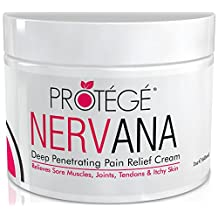 NERVANA - Natural Pain Relief Cream - Best for Anti-inflammatory Topical Pain Relief (60 ml)