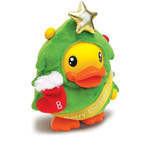 [B.Duck Xmas Tree Saving Bank, 16cm] (Piggy Back Costume Baby)