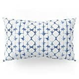Society6 Shibori Thirteen Pillow Sham King (20'' x 36'') Set of 2