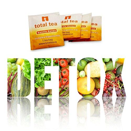 Total Tea Gentle Detox Tea Herbal Tea Cleanse Tea