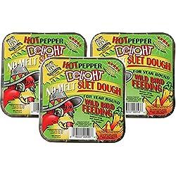 CS Hot Pepper Delight Suet Dough Cake, 11.75 Ounce
