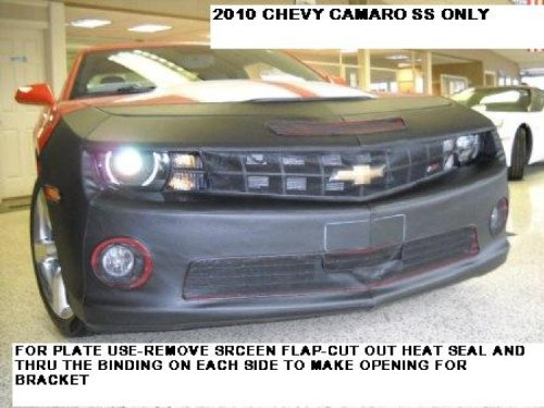 Lebra 2 piece Front End Cover Mask Bra Black - Chevy Camaro SS and SS Convertible (not for 1SS & ZL1 models) 2010 thru 2013