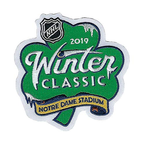 2019 NHL Winter Classic Jersey Patch Chicago Blackhawks Boston Bruins Official
