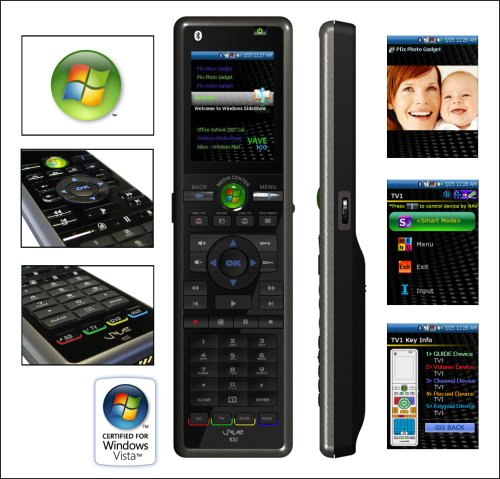 Ricavision VAVE100 SideShow Universal Remote Control by Ricavision