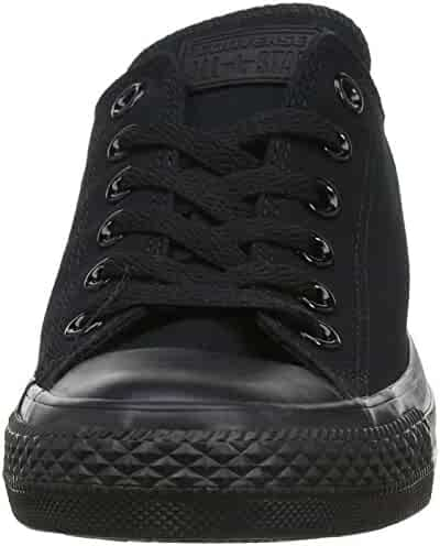 Converse Unisex Chuck Taylor All Star Low Top Black Sneakers - US Men's 8.5 D(M) / US Women's 10.5 B(M)