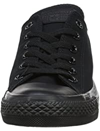 Unisex Chuck Taylor All Star Low Top Black Sneakers - US...