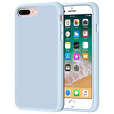 """iPhone 8 Plus Case, iPhone 7 Plus Case, Anuck Soft Silicone Gel Rubber Bumper Case Microfiber Lining Hard Shell Shockproof Full-Body Protective Case Cover for iPhone 7 Plus /8 Plus 5.5"""""""