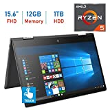 "Compare Lenovo Flex 5 2-in-1 (Flex 5 2018) vs HP Envy x360 (HP ENVY x360 15.6"" 2-IN-1)"
