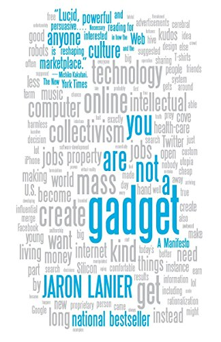Image of You Are Not a Gadget: A Manifesto