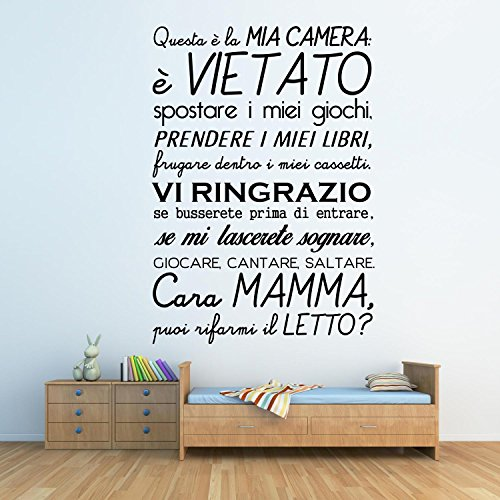 Adesiviamo 1448-M This is my room Wall Sticker [text may be in ...