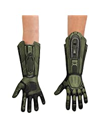 Disguise Costumes Master Chief Deluxe Child Gloves Costume, One Color