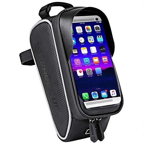 Yeelight Bicycle Frame Bag Top Bag – Funda impermeable para teléfonos móviles con visor, protector para los oídos, TPU…